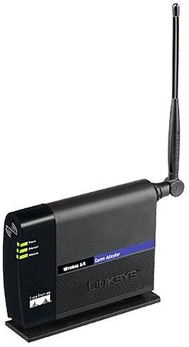 Linksys WGA54AG Game Adapter 802.11A/G 54 Mbps