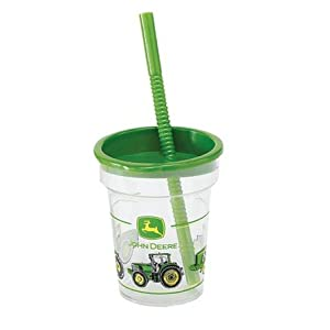 John Deere Cup and Straw Tumbler Birthday Party Supplies(1 cup only)