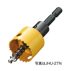 DENSAN 充電バイメタルホールソー(薄刃タイプ) JHU-24