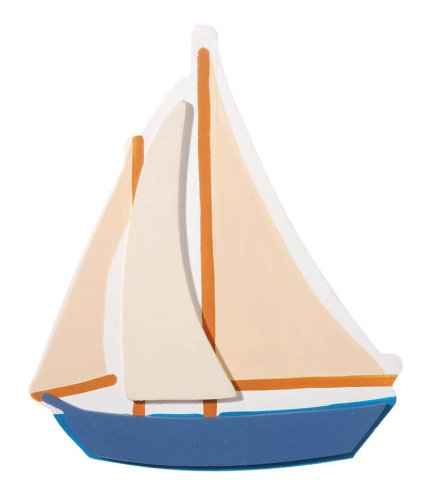Darice 9189-91 Sailboat Cutout - 1