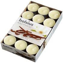 Bolsius 30 Pack Tealights Vanilla by Cargo