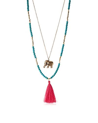 Stella & Ruby Mala Elephant Necklace