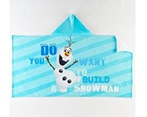 Disney Frozen Blue Color Hooded Towel for Kids (Olaf)