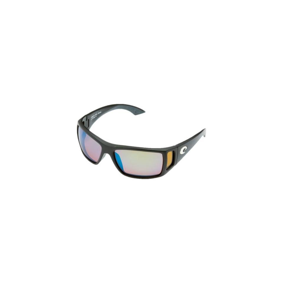 2a8bb756b28f0 Costa Del Mar Sunglasses Bomba Glass   Frame Black Lens Polarized Green  Mirror Wave 580 Glass