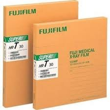 Fuji Super HR-T Medium Speed Green 10x12 X-Ray Film