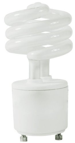 6 Pack Satco S8203 13 Watt T2 Ultra Mini Spiral 2700K Soft White Compact Fluorescent Light Bulb with GU24 Base (60 Watt Replacement)