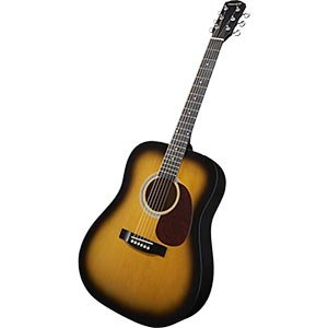 Fender Starcaster Acoustic Electric Sunburst Guitar Built In Tuner With Gig Bag And Accessories & Harmonica