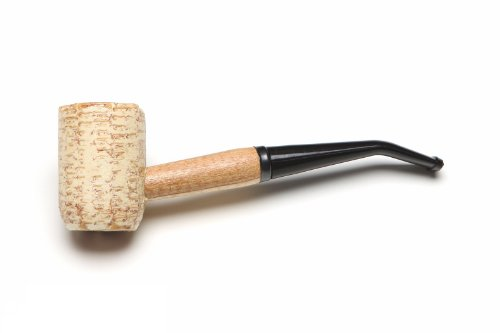 Missouri Meerschaum Washington Corncob Tobacco Pipe Bent