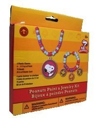 Peanuts Paint A Jewelry Kit With Beads