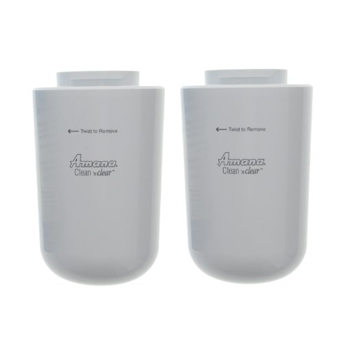 12527304 / Wf401 Amana Clean N Clear Refrigerator Filter (2-Pack) back-580630