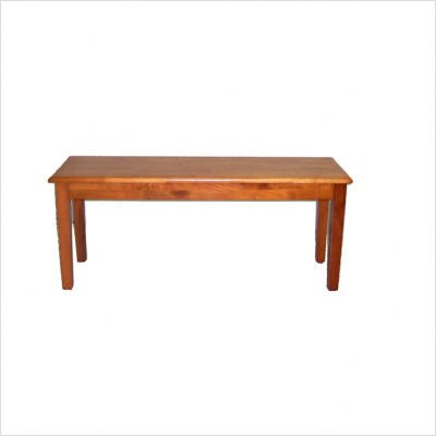 Shaker Dining Bench - Oak