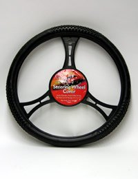 Allison Racing Massage Steering Wheel Cover Black