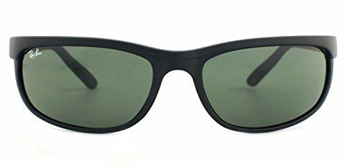 ray-ban-2027-rb2027-w1847-62mm-predator-2-matte-black-with-green-g-15xlt-lenses