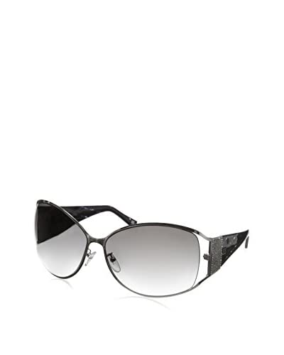 Escada Women's SES778S Sunglasses, Shiny Palladium