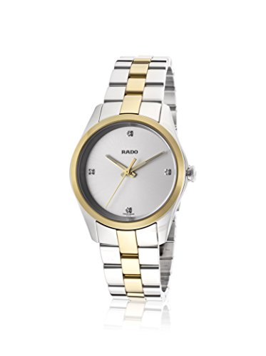 Rado Women's Hyperchrome Silver Stainless Steel Watch