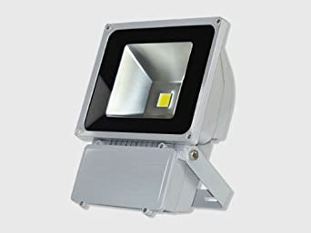 Laykor 80 Watt (80W) LED Weatherproof Floodlight Outdoor Security Flood Light, 85-265V AC, Warm White