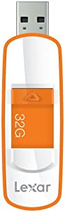 Lexar  JumpDrive S73 32GB USB 3.0 Flash Drive LJDS73-32GASBNA (Orange)