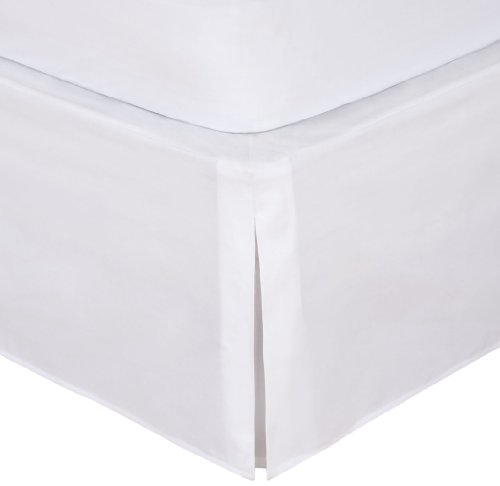 "Big Save! Magic Skirt Tailored Bedskirt, Never Lift Your Mattress, Classic 14"" drop length, Ple..."