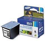 Brand New. Samsung Fax Inkjet Cartridge Black [for SF-370/SF-375TP] Ref INK-M41/ELS