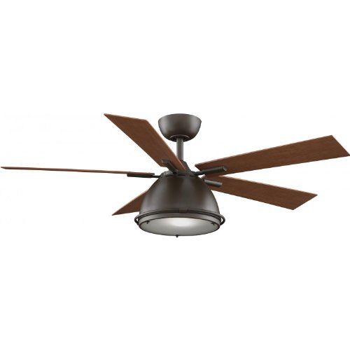 Fanimation Breckenfield 52 Inch Outdoor Ceiling Fan - Oil Rubbed Bronze