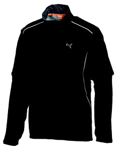 Puma Golf NA Men's Storm Cell Pro Jacket, Black, Large