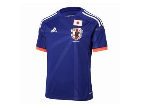 adidas(アディダス) Kids サッカー日本代表 ホーム レプリカジャージー S/S G85292 ジャパンブルー/ホワイト/ポップ