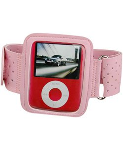 iPod Nano Armband in Pink for Apple iPod Nano III 3G 3rd Generation