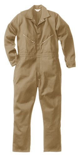 Walls Men's 100% Cotton Coveralls  Khaki