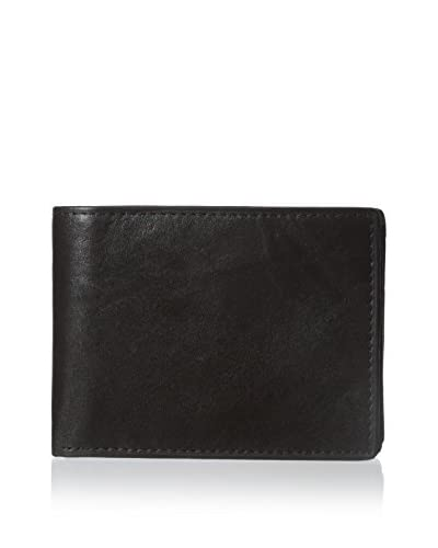 Steve Madden Men's Glove Passcase Wallet, Brown, One Size