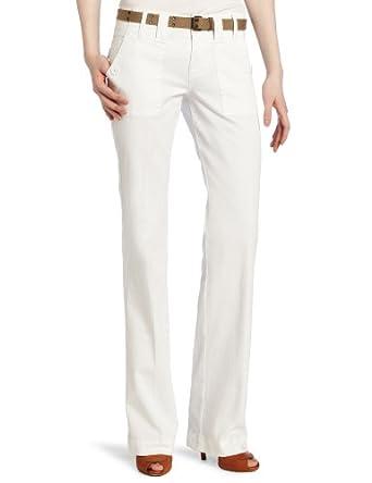 Sanctuary Clothing Women's Peace Pant, White, 25