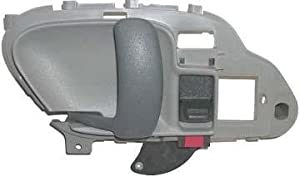 1995 1996 1997 1998 1999 Chevrolet Suburban Gray Lh Drivers Side Inside Door Handle for Chevy Suburban Left Hand Driver Interior Handle 95 96 97 98 99 Partslink #GM1352101