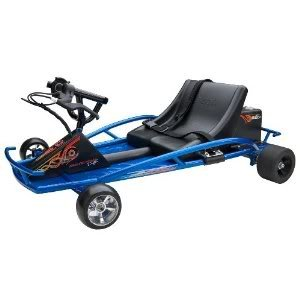 Toy / Game Razor Ground Force Drifter Kart With Thumb-Trigger Acceleration Control And Hand-Operated Rear Brake
