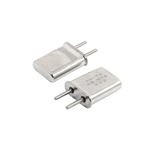 2 Pcs R-01 26.975Mhz Am Receiver Crystal For Rc Model Car