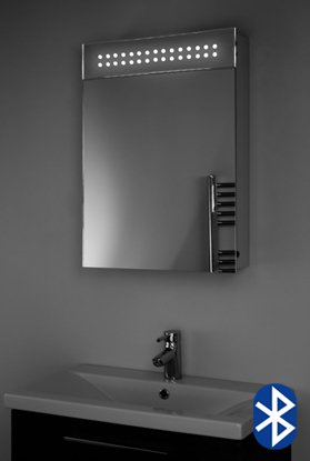 Audio Bathroom Cabinet Mirror With Bluetooth, Shaver Socket & Sensor K115Aud