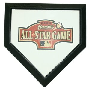 2004 MLB All Star Game Authentic Hollywood Pocket Home Plate