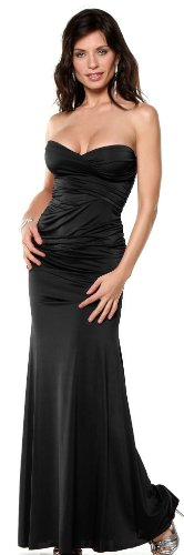 Strapless Gown Formal Evening Party Special Occassion Long Maxi Dress, Small