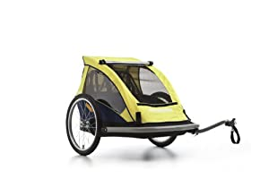 Croozer Kid C1 Double Child Bicycle Trailer by Chariot Carriers