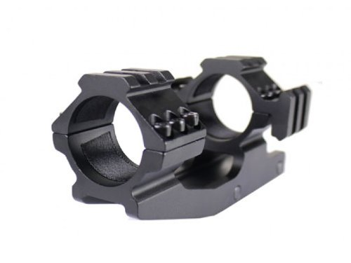 "Buy 1""(inch) Ring Cantilever Flat Top Rifle Scope Tri-mount with Picatiiny Rail Base"