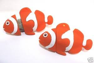Novelty 8GB USB Flash Drive - Finding Nemo Clown Fish. Keyring Attached Presented In A Magnetic Gift Box. Twice the GB Half the Price. from NUT