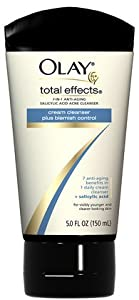 Olay Total Effects Anti Aging Anti-Blemish Daily Cleanser - 5 Oz