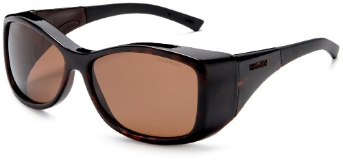 Haven Fits Over Sunwear Balboa Fitover Sunglasses,Tortoise Frame/Amber Lens,one size