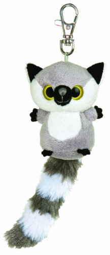 yoohoo-friends-cuddly-toy-lemur-amp-katta-lemmee-soft-toy-keyring-approx-7-cm-grey