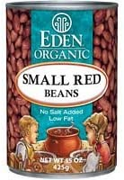 Eden Organic Small Red Beans No Salt Added 15-Ounce Cans Pack of 12  Value Bulk Multi-pack