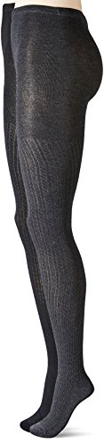 anne-klein-womens-bold-bias-textured-knitted-tights-black-charcoal-heather-medium-large-pack-of-2