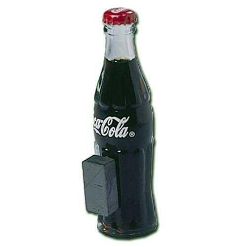 Coca-Cola Miniature Filled Bottle Magnet front-70011