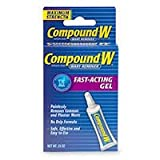 Compound W Wart Remover Fast-Acting Gel: .25 OZ