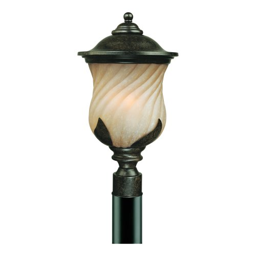 light exterior wall lantern marbleized bronze finish with champagne. Black Bedroom Furniture Sets. Home Design Ideas