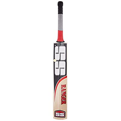 SS Ranger Kashmir Willow Cricket Bat, Short Handle