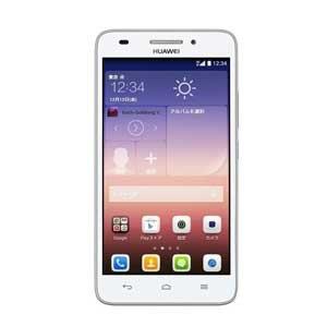 Huawei SIMフリースマートフォン Ascend G620S(ホワイト)(LTE対応) G620S-L02/W