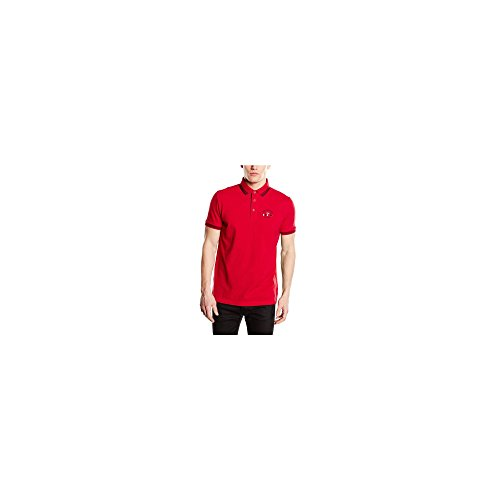 POLDEU ROUGE - POLO HOMME ROSSO S - TBS